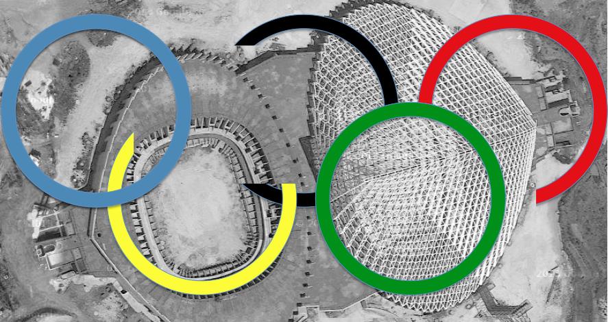 no olimpiadi senza scritta