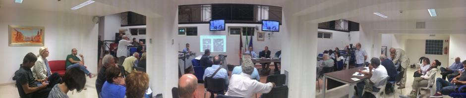 Conferenza urbanistica nel XIII Municipio (Foto AMBM)