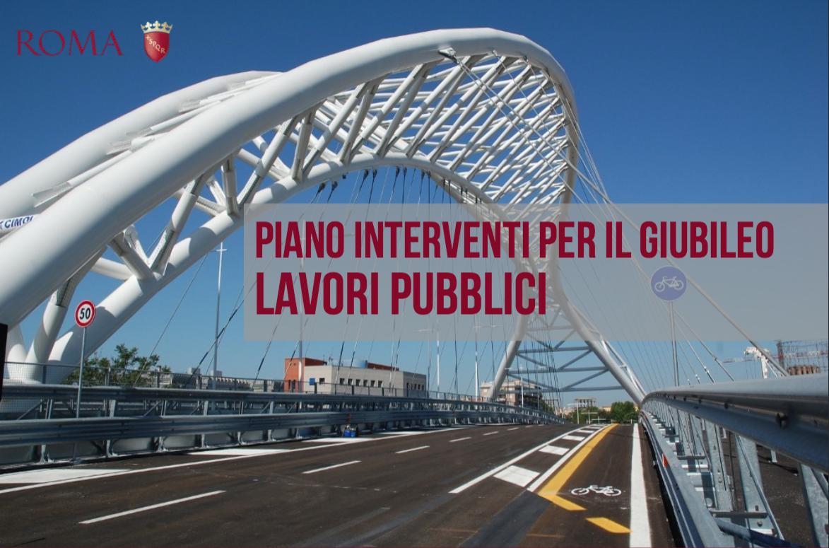 interventi Giubileo Comune Roma 12 ago 2015 copertina lavori pubblici