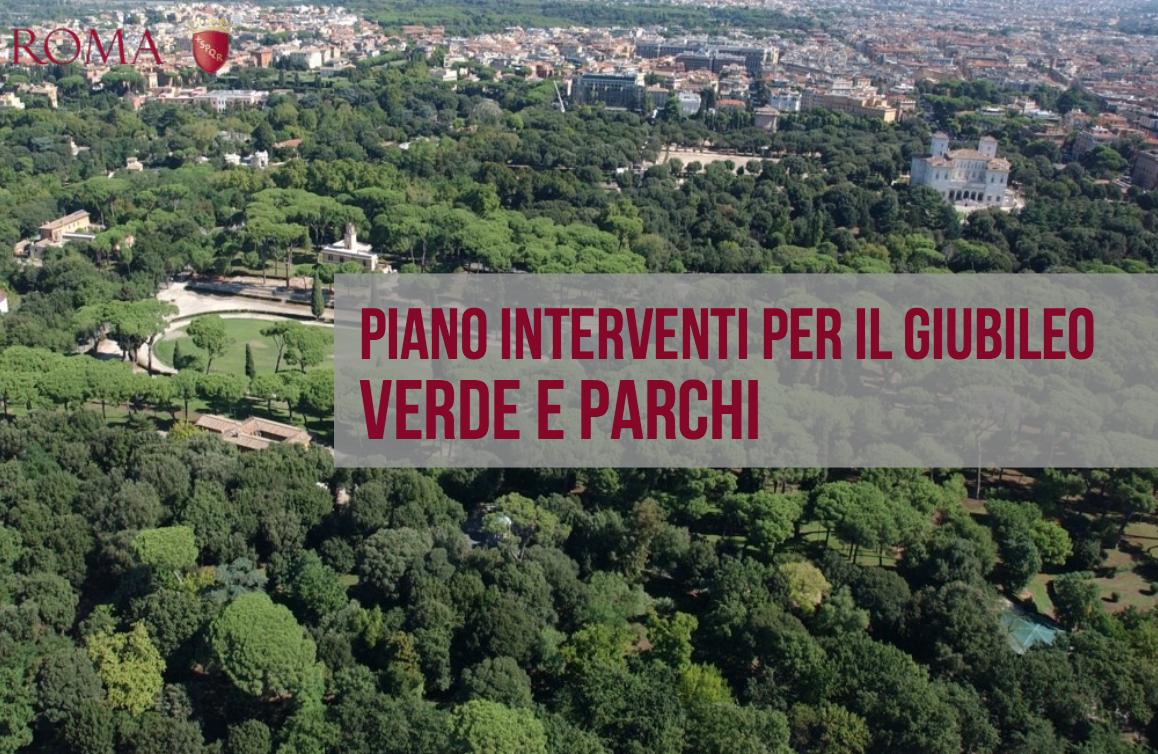 interventi Giubileo Comune Roma 12 ago 2015 copertina parchi