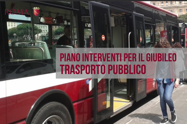 interventi Giubileo Comune Roma 12 ago 2015 copertina trasporto pubblico