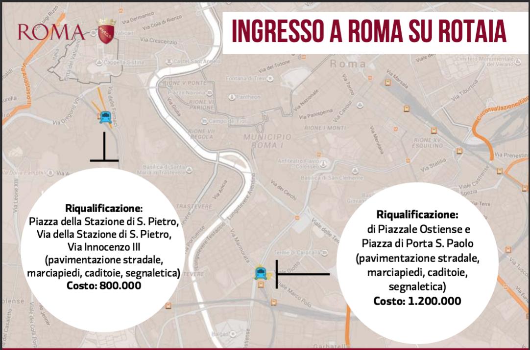 interventi Giubileo Comune Roma 12 ago 2015 lavori pubblici 1