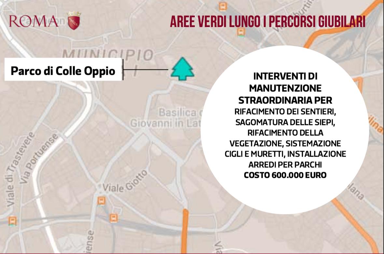 interventi Giubileo Comune Roma 12 ago 2015 verde e parchi 3