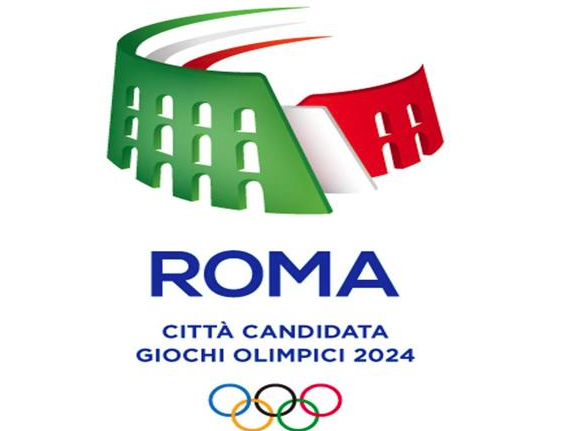 logo olimpiadi roma2024