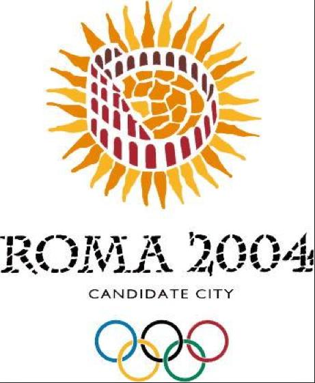 il Logo scelto per Roma 2004