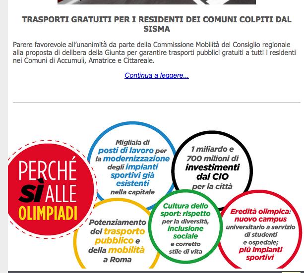 newsletter-pd-lazio-olimpiadi-2016-10-09-alle-09-24-11