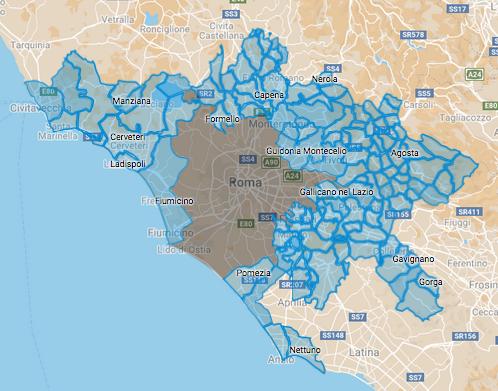 roma citta metropolitana