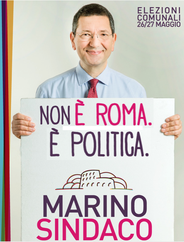 Marino - non e Roma e politica