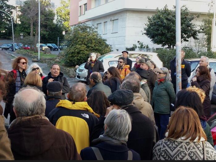 L'assessore Caudo a Spiazziamoli: Piediperterra all'EUR il 7 marzo 2015