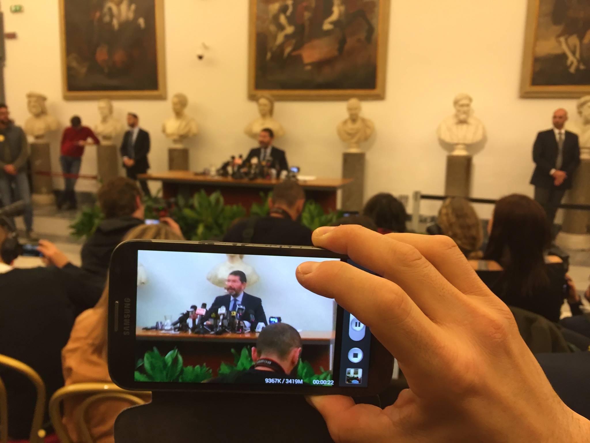conferenza stampa Marino 30 ottobre 2015 (foto ambm)