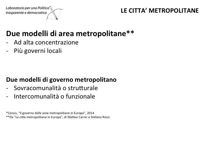 come si governa citta metropolitana Diapositiva15