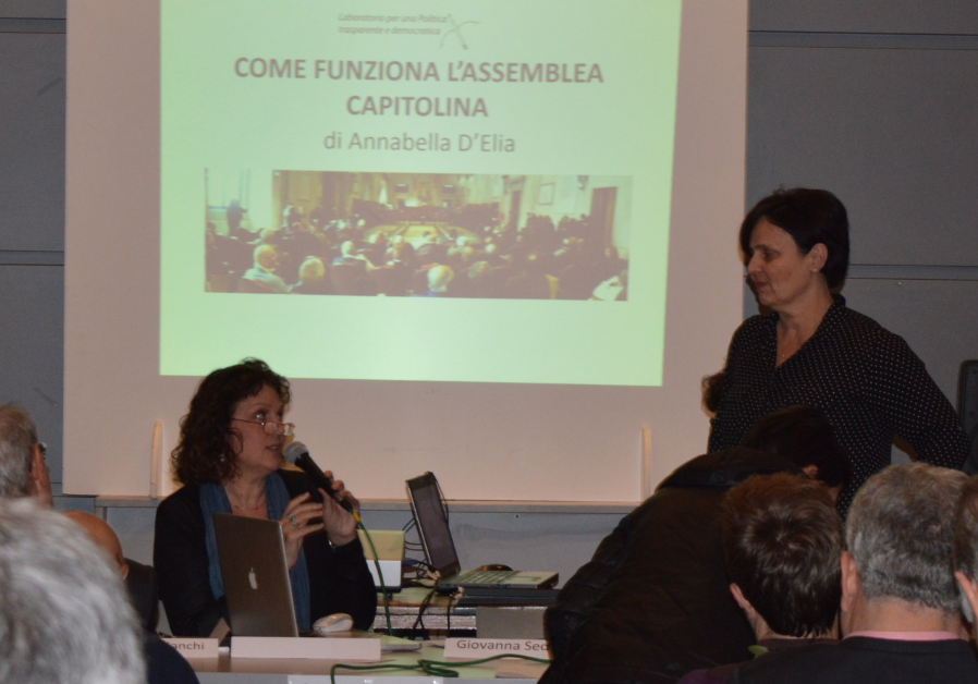 Anna Maria Bianchi e Annabella D'Elia (Foto LF)