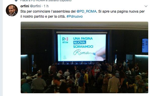 orfini tweet congresso