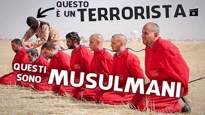 terrorista e musulmani