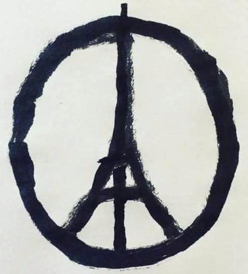 il disegno di Bansky contro il terrorismo