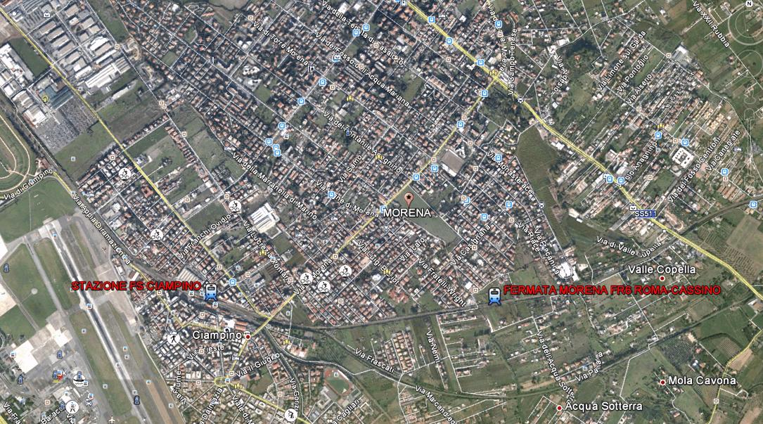 L'area di Morena