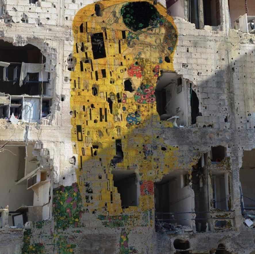 BACIO DI KLIMT in Siria