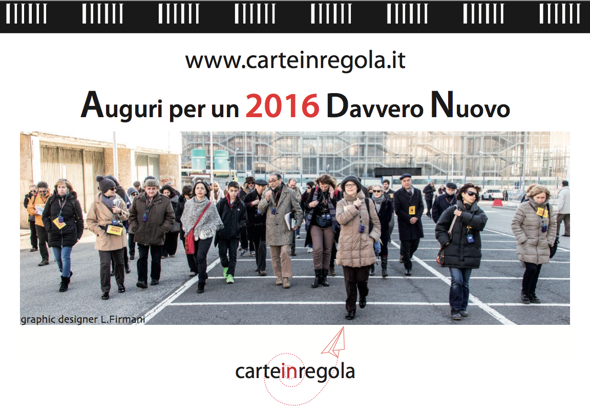 Calendario carteinregola 2016 copertina