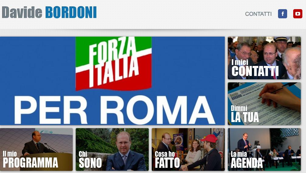Pagina Bordoni Forza Italia