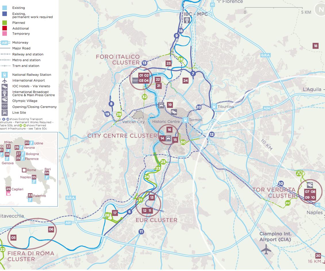 dossier roma 2024 mappa stretta