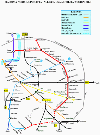 progetto tram saxa rubra laurentina