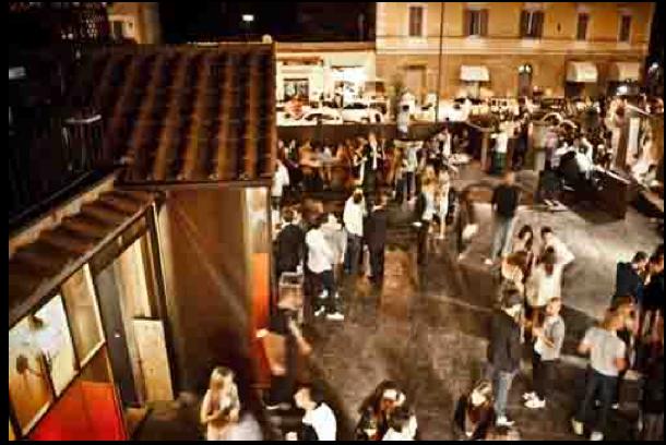 """inaugurazione """"Gone"""" nel 2010, da Affari Italiani"""