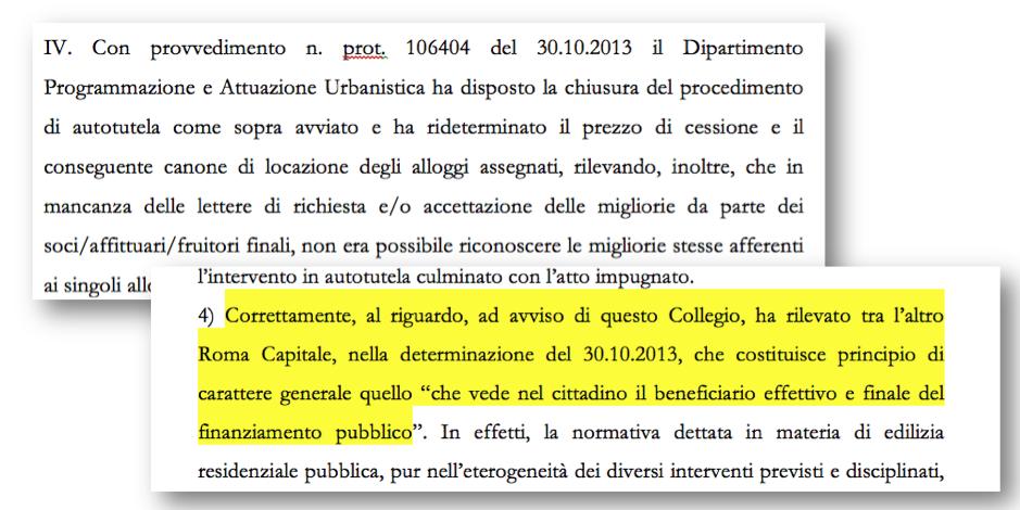 brani sentenza TAR Pdz aprile 2015