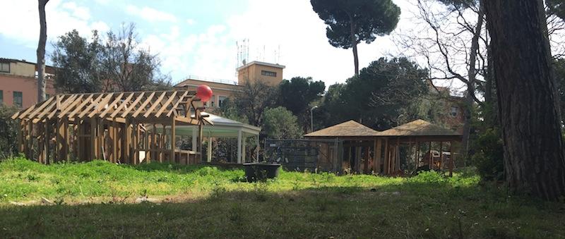 Villa Massimo, un altro Punto Verde Infanzia, come appariva fino a qualche tempo fa