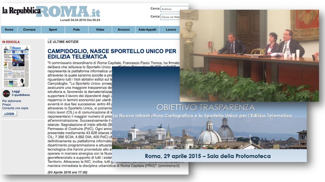 CONFRONTO presentazione sportello telematico 2015-2016