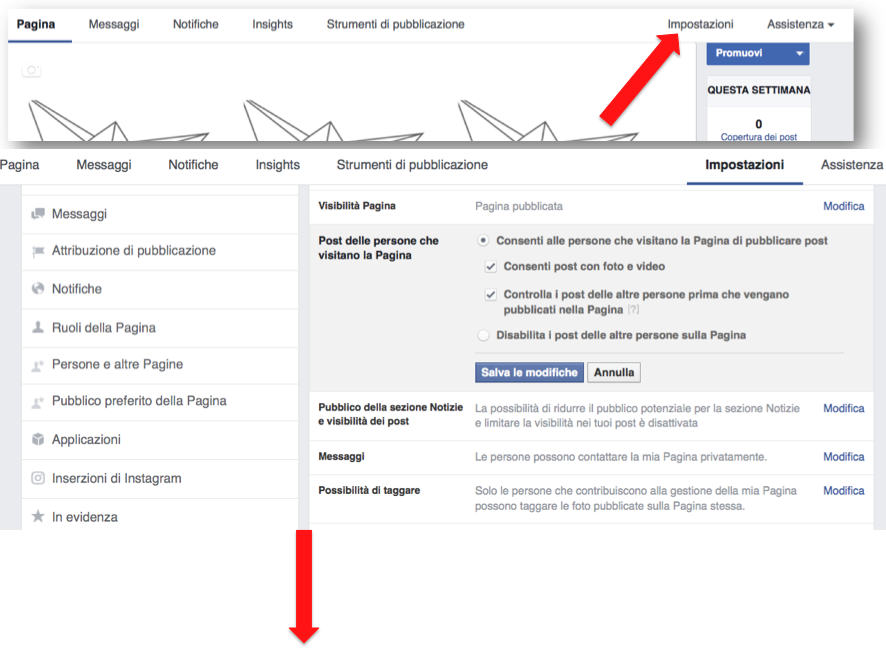 istruzioni per creare pagina Facebook  10