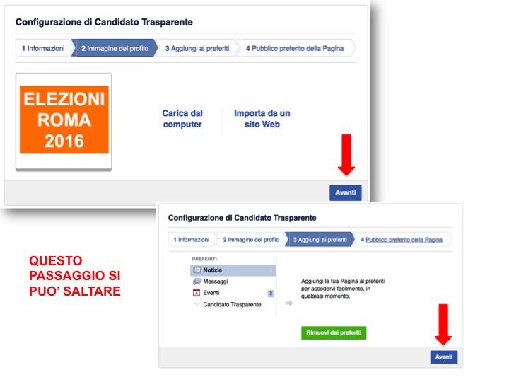 istruzioni per creare pagina Facebook  4