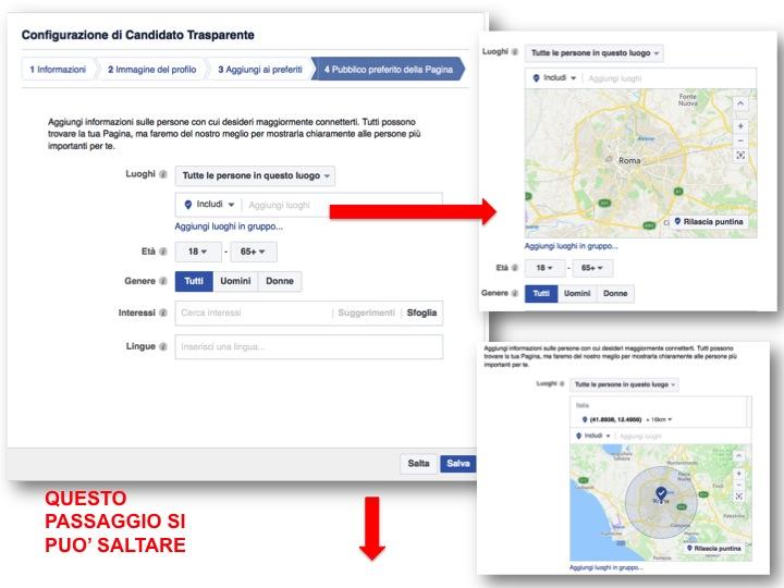 istruzioni per creare pagina Facebook  5