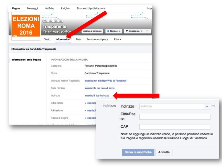 istruzioni per creare pagina Facebook  7