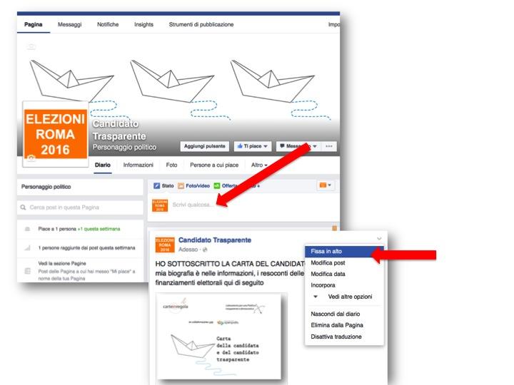 istruzioni per creare pagina Facebook  9
