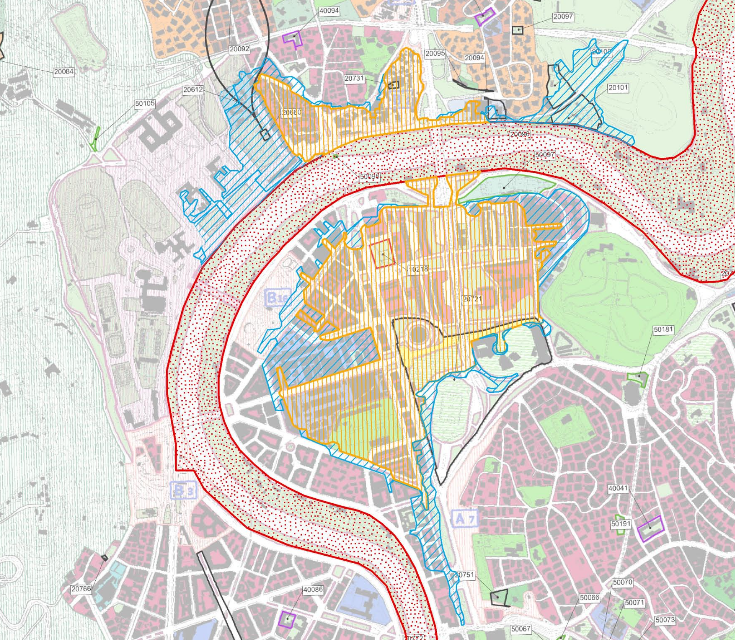 Mappa aggiornata dal ABFT nel 2015