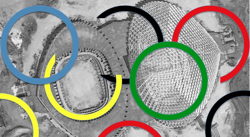 olimpiadi cerchi vele