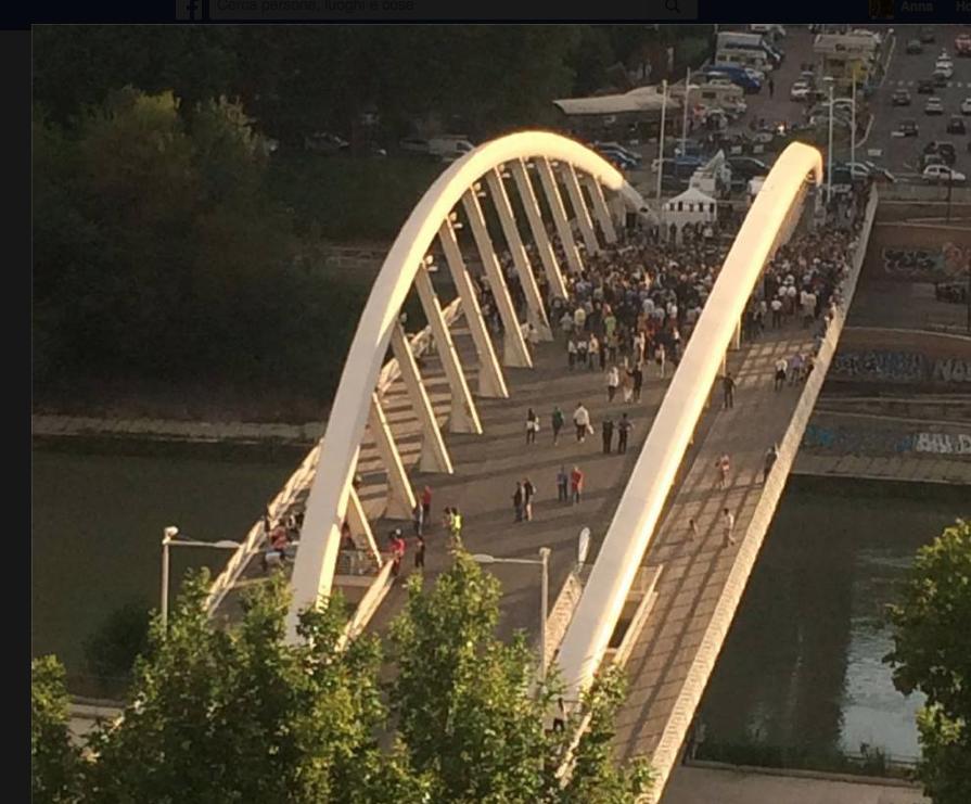 Ponte della Musica Comizio finale di Giachetti