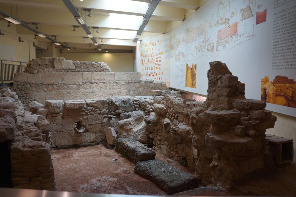 Stazione Monastiraki – reperti archeologici