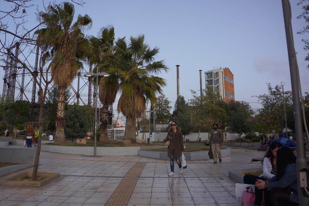 Giardino di accesso al Gaz