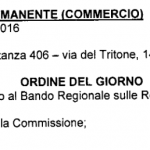 COMMISISONE SETTE COMMERCIO