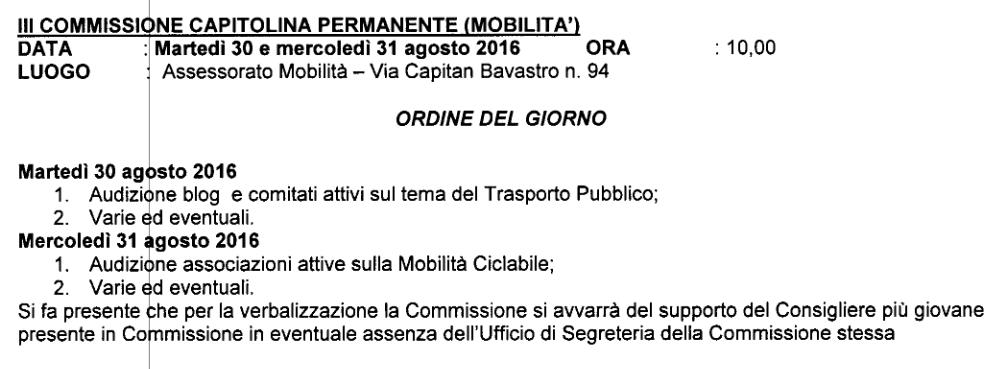 commissione mobilitA 29 agosto 016-