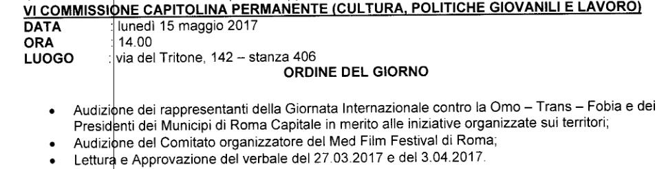 conv comm 8528 giornata contro omofobia Schermata 2017-05-11 alle 20.52.37