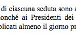 regolamento roma capitale preavviso convocazione assembela art 29.