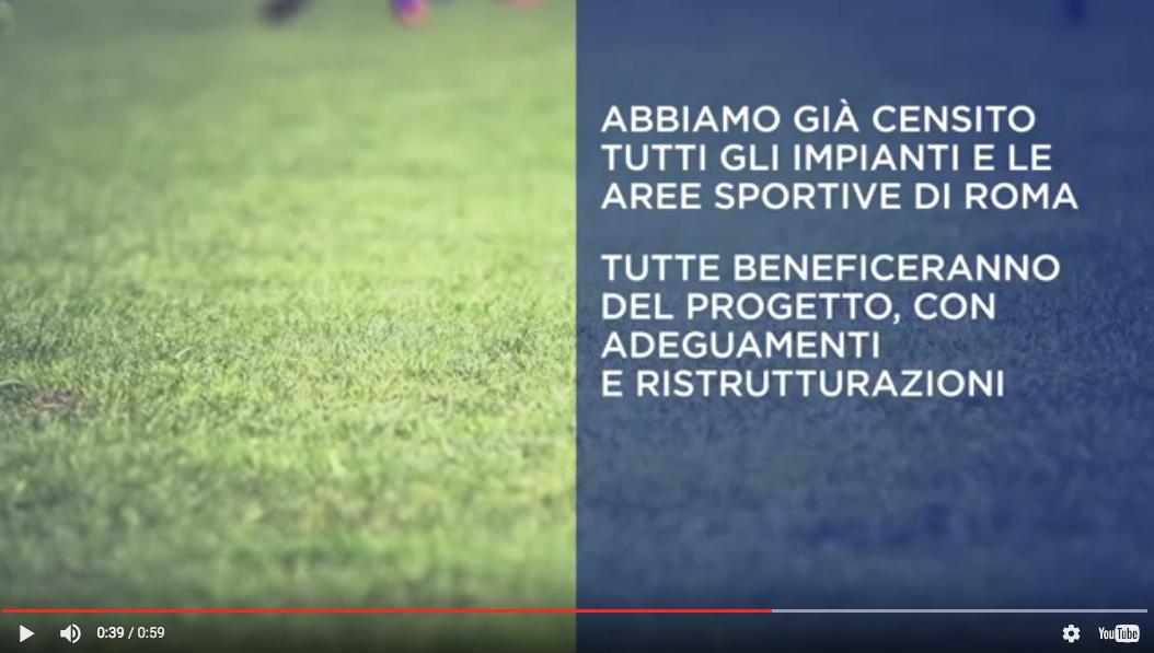 Dal sito di Roma 2024, frame dal  video di presentazione