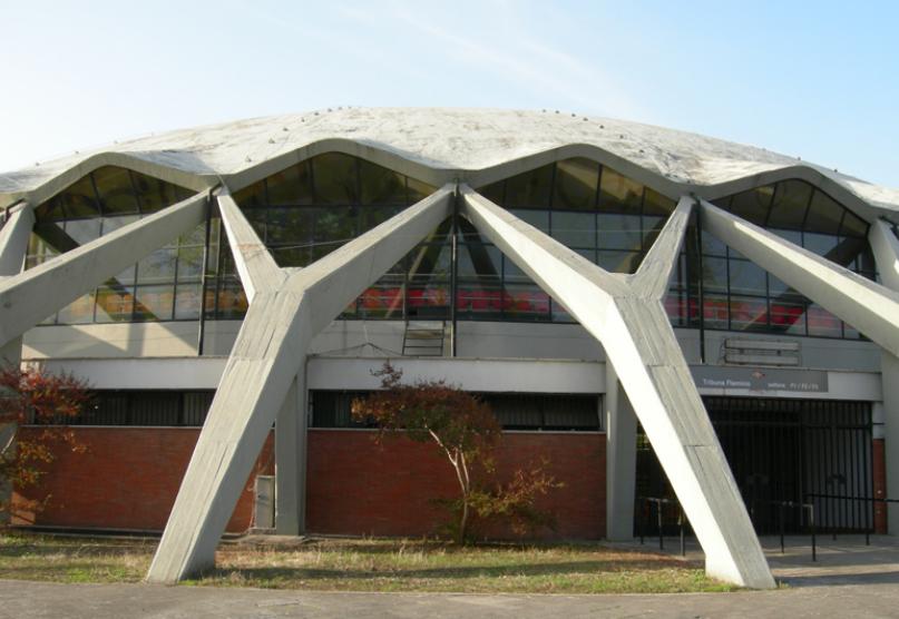 palazzetto sport arch portale