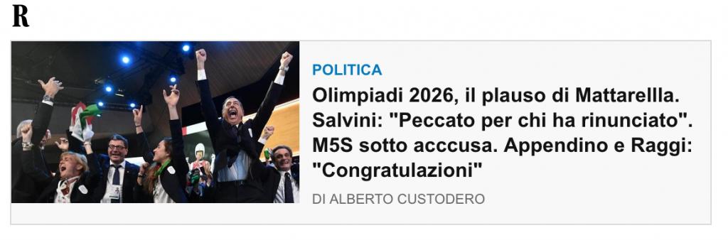 dal sito Repubblica.it