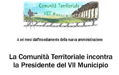 comunita territoriale VII assemblea