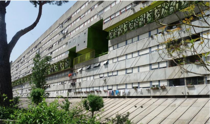 """Corviale il progetto di ristrutturazione con """"il piano verde"""""""
