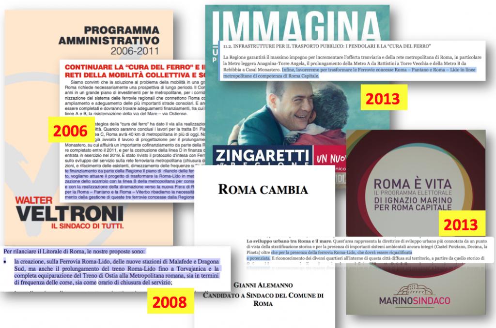 Promesse elettorali Roma-Lido