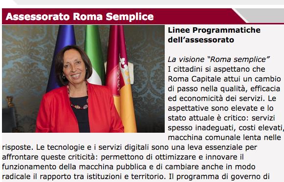 assessorato roma semplice